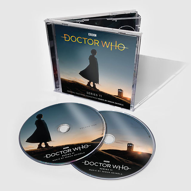 doctor who series 11 standard CD