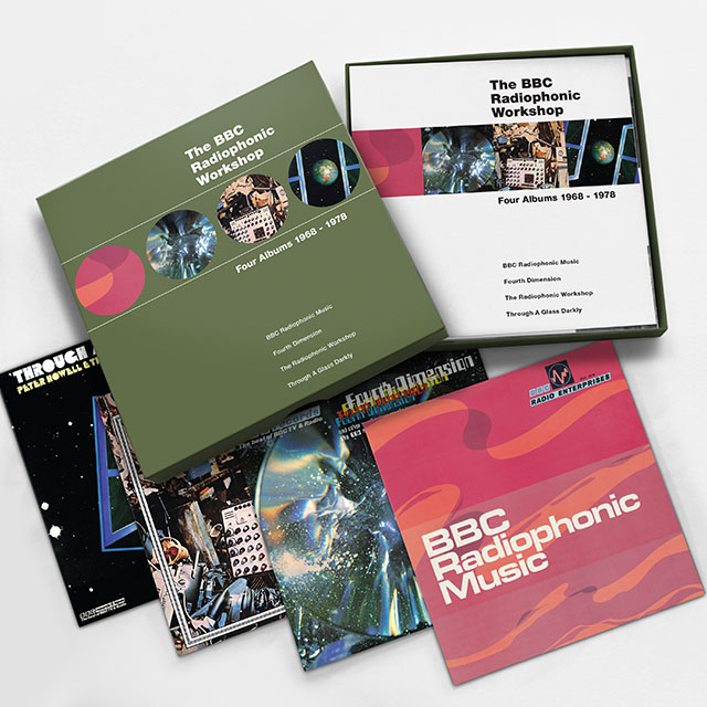 The BBC Radiophonic Workshop: Four Albums 1968 - 1978