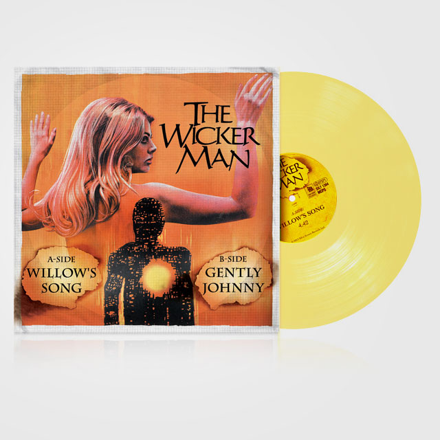 The Wicker Man 7 inch vinyl