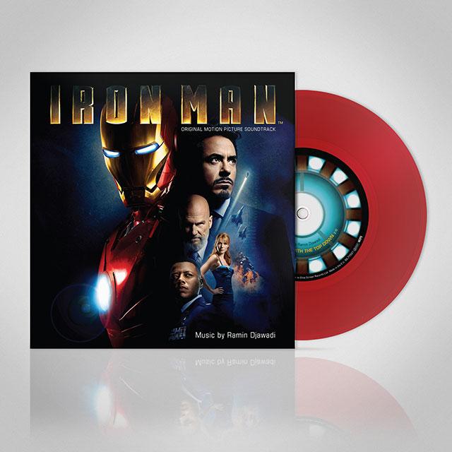 Iron Man 7 inch vinyl