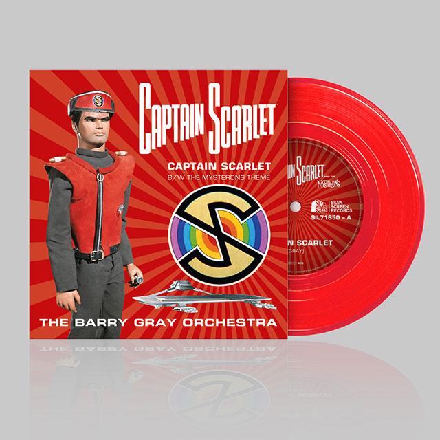 Captain Scarlet 7 inch Vinyl
