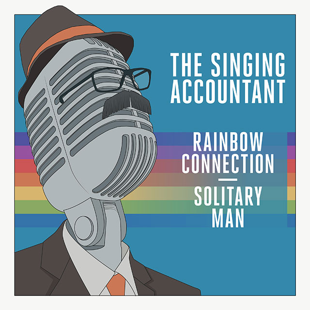 The Singing Accountant - Rainbow Connection / Solitary Man
