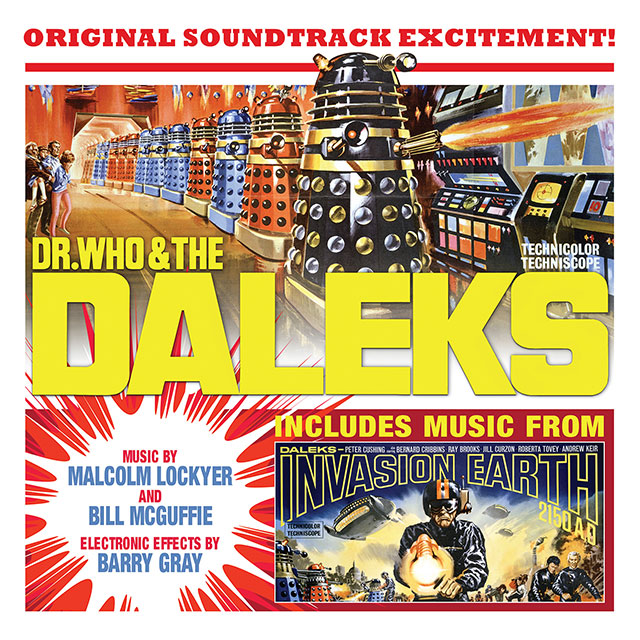 Dr Who & The Daleks / Invasion Earth 2150 AD