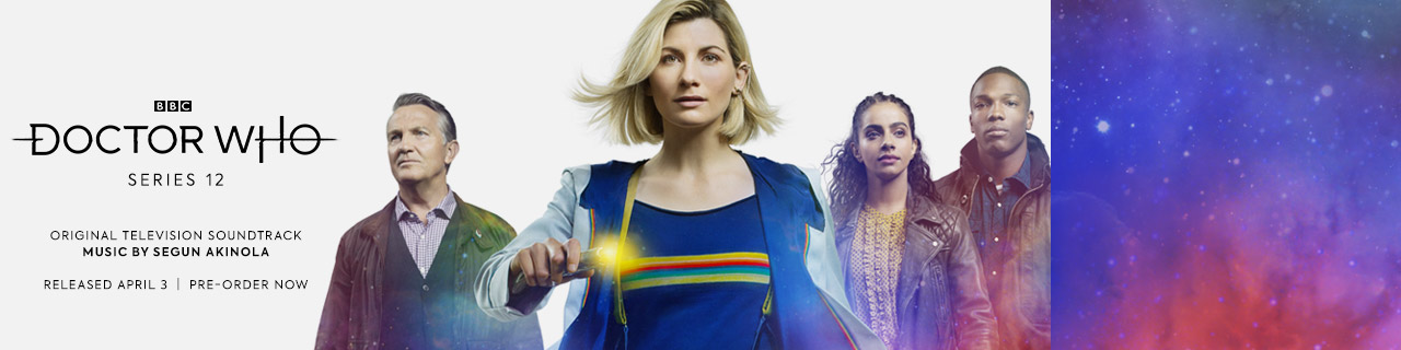 Doctor Who series 12 banner