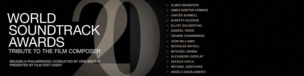 World Soundtrack Awards banner