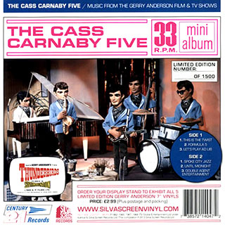 The Cass Carnaby Five 7 inch on clear flexi disc